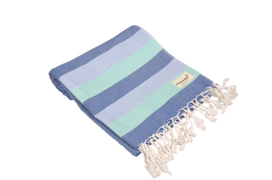 CottonAge Swan River Series Turkish Towel - Peshtemal #Skyfall