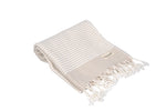 CottonAge Melbourne Series Turkish Towel - Peshtemal #Velvet Beige