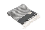 CottonAge Melbourne Series Turkish Towel - Peshtemal #Black Pearl