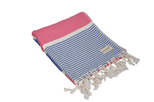 CottonAge Gold Coast Series Turkish Towel - Peshtemal #Navy Rose