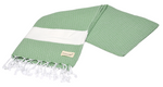 CottonAge Sydney Series Turkish Towel - Peshtemal #Green Diamond