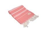 CottonAge Buldan Series Turkish Towel - Peshtemal #Sweet Pink