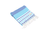 CottonAge Bondi Beach Series Turkish Towel, 375g, Ocean Blues