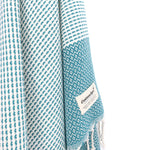 Turkish Towel, CottonAge Ayada Series, 350g, Teal