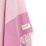 Turkish Towel, CottonAge Ayada Series, 350g, Fuchsia