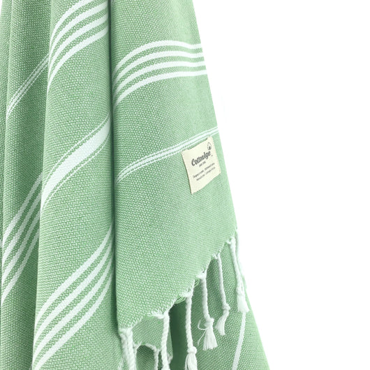 Turkish Towel, CottonAge Sapphire Series, 375g, Apple Green