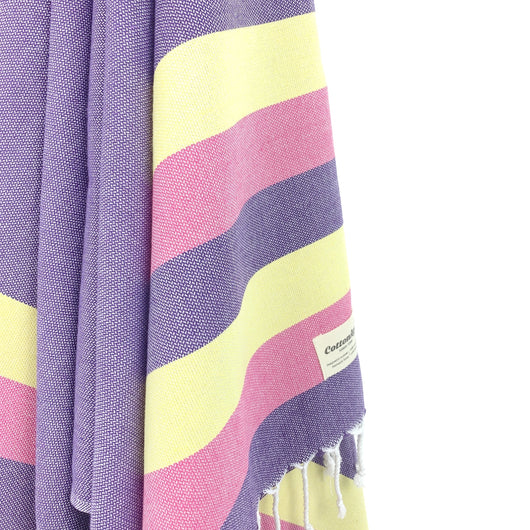 Turkish Towel, CottonAge Celestine Series, 375g, Purple