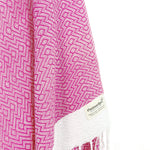 Turkish Towel, CottonAge Emerald Series, 370g, Fuchsia