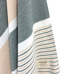 Turkish Towel, CottonAge Esperance Series, 420g, Khaki-Brown