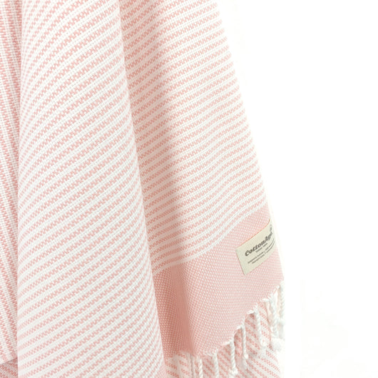 Turkish Towel, CottonAge Pearl Series, 420g, Pearl Pink