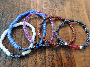 Ranked Beaded Bracelets