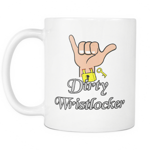 Dirty Wristlocker (White)