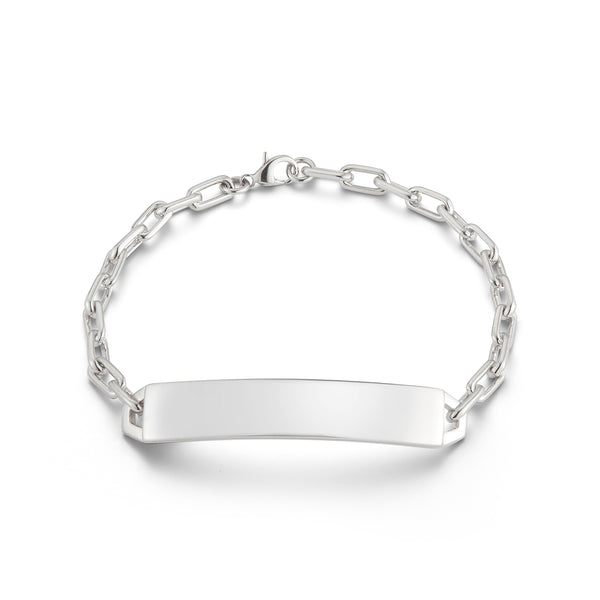 CARRINGTON STERLING SILVER MINI ID BAR BRACELET