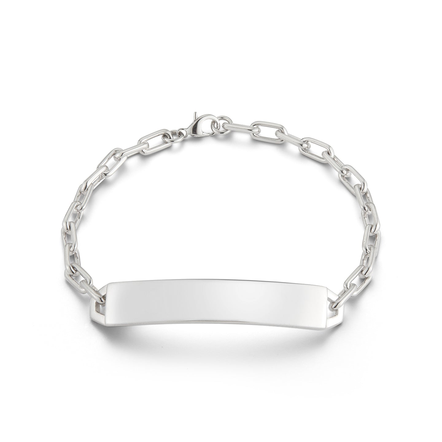 CARRINGTON STERLING SILVER ID BAR BRACELET