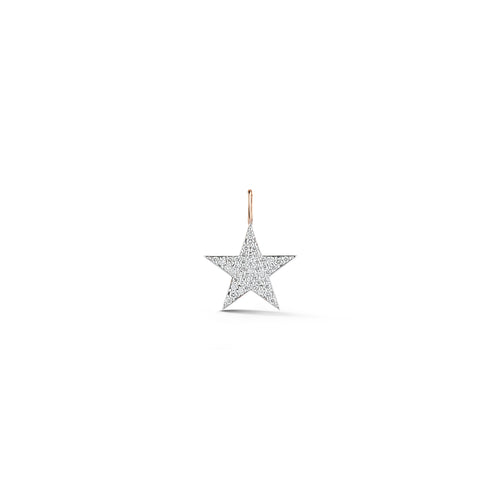 ABC x WF DORA 18K ROSE GOLD ALL DIAMOND STAR