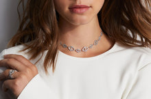 KEYNES 18K ROSE GOLD SIGNATURE HEXAGON CHOKER