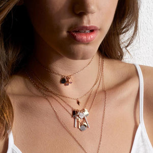 Sydney 18K Rose Gold Mini Origami Charm