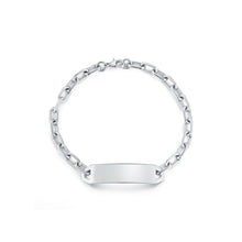 CARRINGTON SILVER MINI ID BAR BRACELET