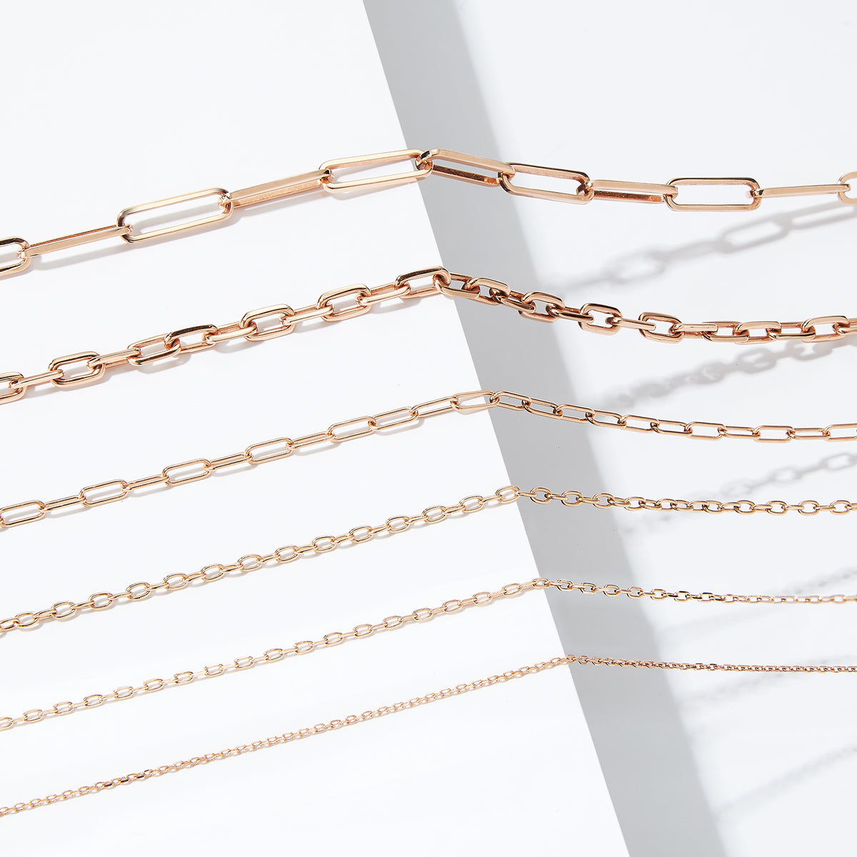 Details about  /Real 18K Rose Gold Chain 1mmW Women/'s Wheat Link Necklace 20/'/'L Adjustable