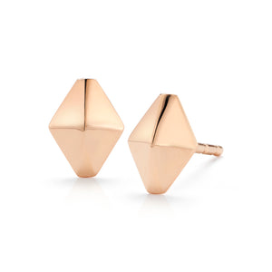 SYDNEY 18K MINI ORIGAMI STUD EARRINGS