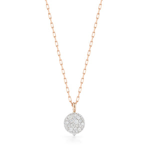 CHANTECAILLE 18K SMALL DIAMOND PEBBLE