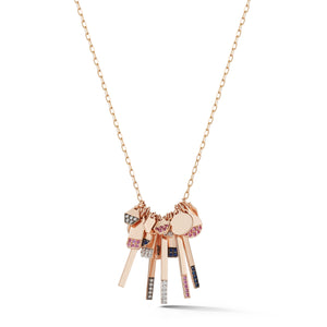 DORA 18K MINI HEXAGON CHARM