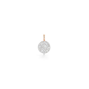 CHANTECAILLE 18K SMALL 9mm  DIAMOND PEBBLE