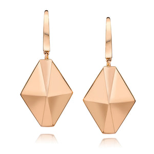 SYDNEY 18K ORIGAMI DROP EARRINGS