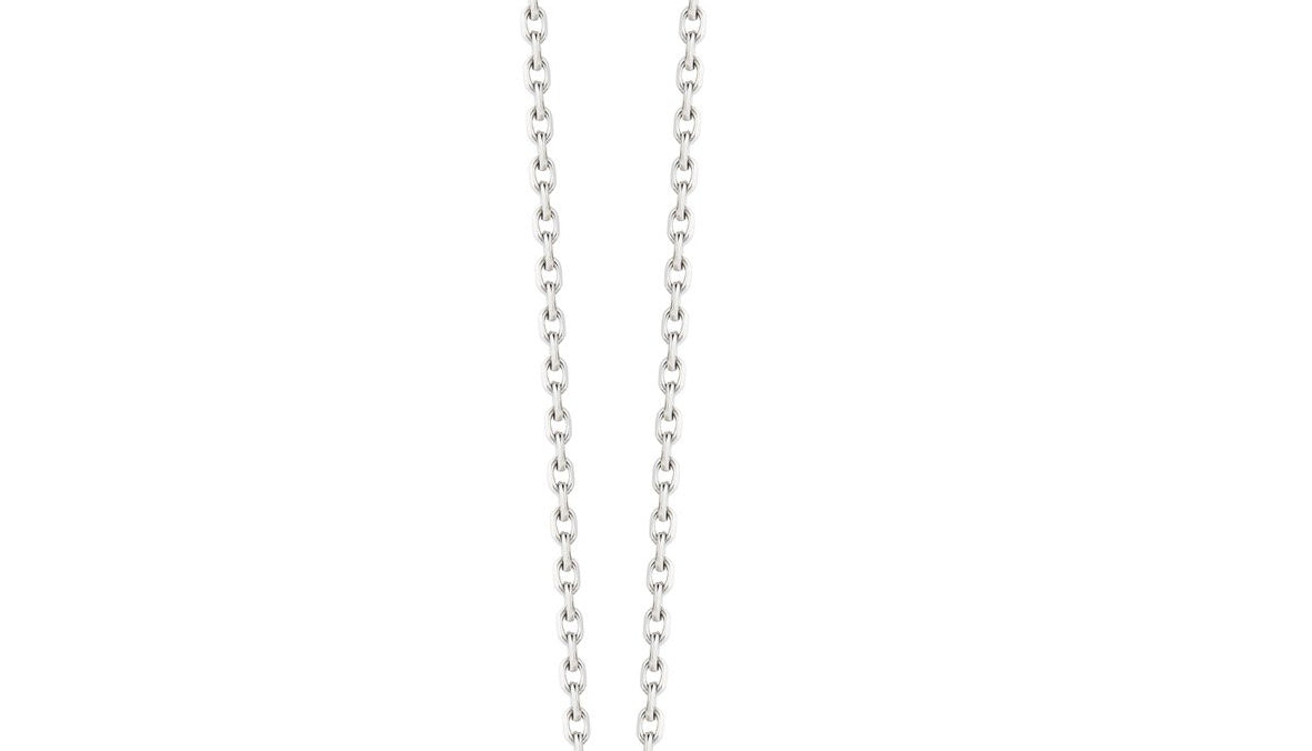 CHAIN 3 - STERLING SILVER CHAIN NECKLACE, 2.2mm