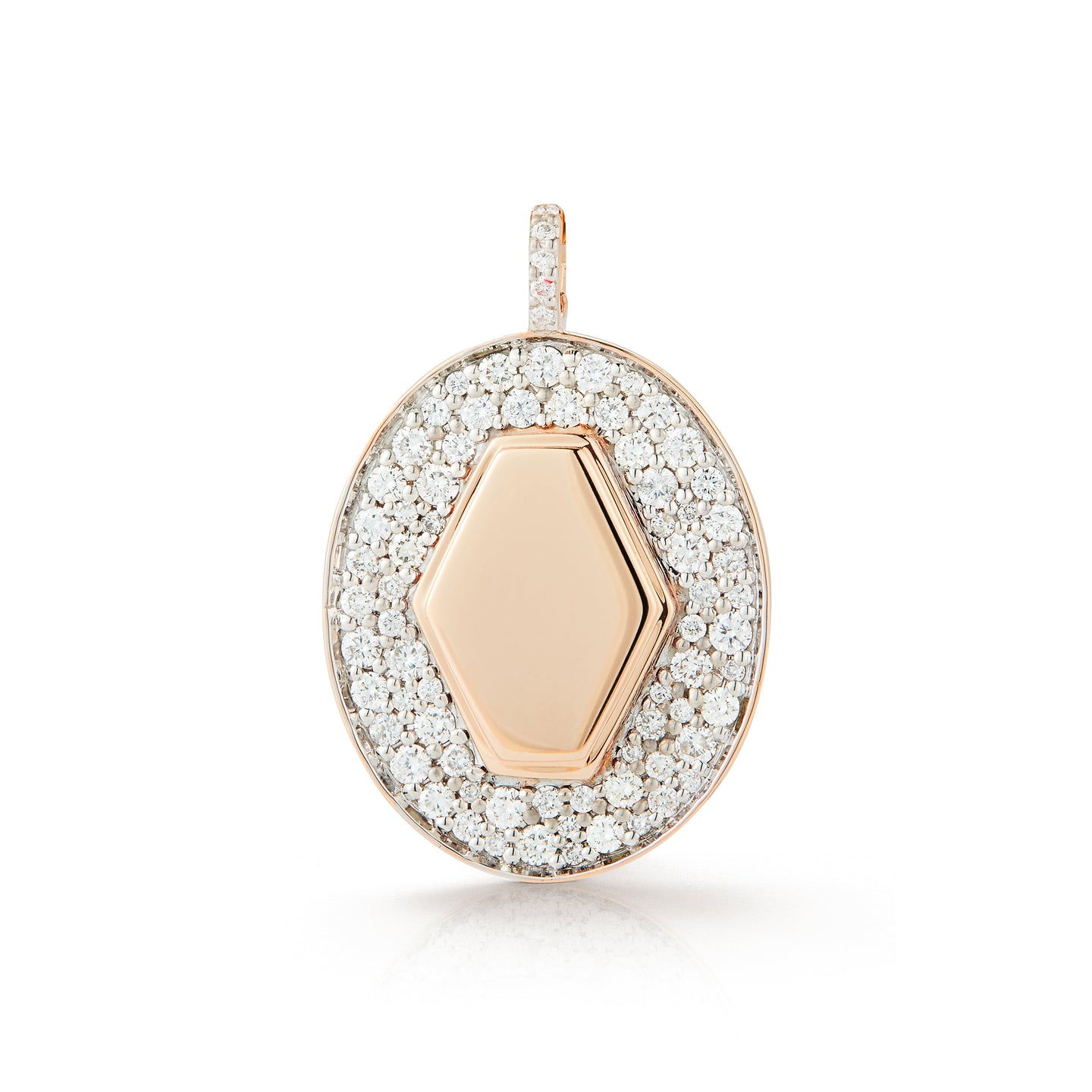 JULIAN 18K DIAMOND SIGNET CHARM