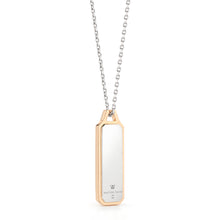 CARRINGTON TWO TONE ID TABLET NECKLACE