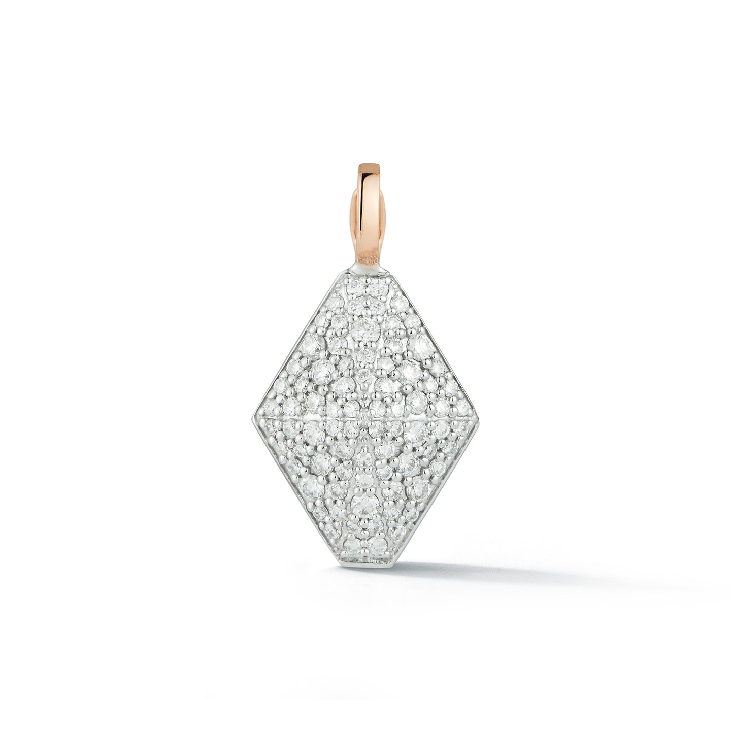 SYDNEY TWO TONE 18K DIAMOND ORIGAMI CHARM