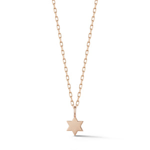 DORA 18K ROSE GOLD MINI STAR