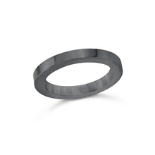 GRANT 18K 3MM CUBED BAND RING