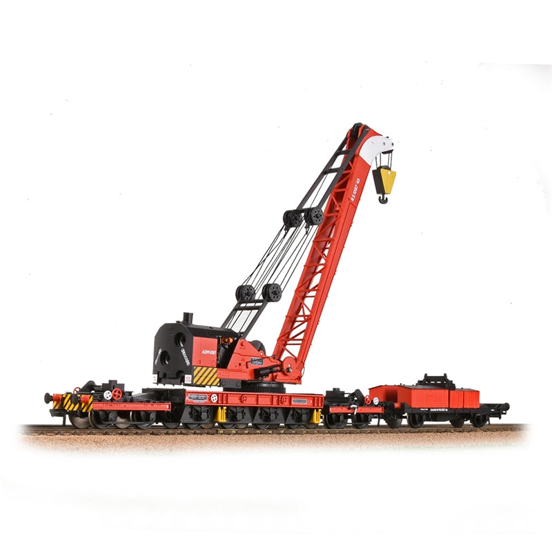 Bachmann Branch Line Ransomes & Rapier 45T Steam Breakdown Crane BR Red