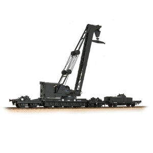 Bachmann Branch Line Ransomes & Rapier 45T Steam Breakdown Crane GWR Grey