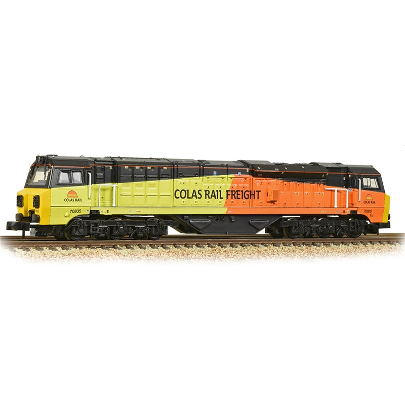 Graham Farish by Bachmann Class 70 With Air Intake Modifications 70805 Colas
