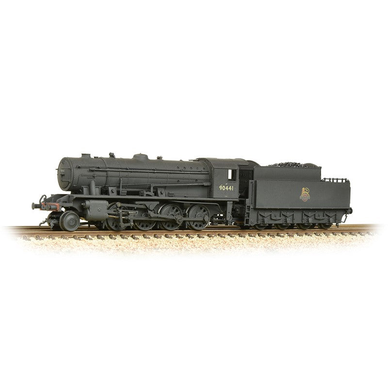 Bachmann 372-425A WD Austerity 90441 BR Black (Early Emblem) [W]