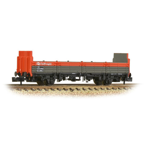 Bachmann 373-631 BR OBA Open Wagon High Ends BR Railfreight Red & Grey