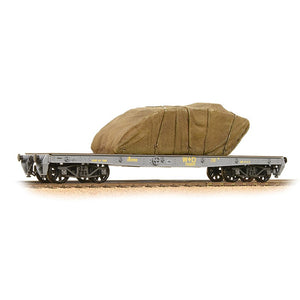 Bachmann 38-740 WD 40T 'Parrot' Bogie Wagon WD Grey With Sheeted Tank