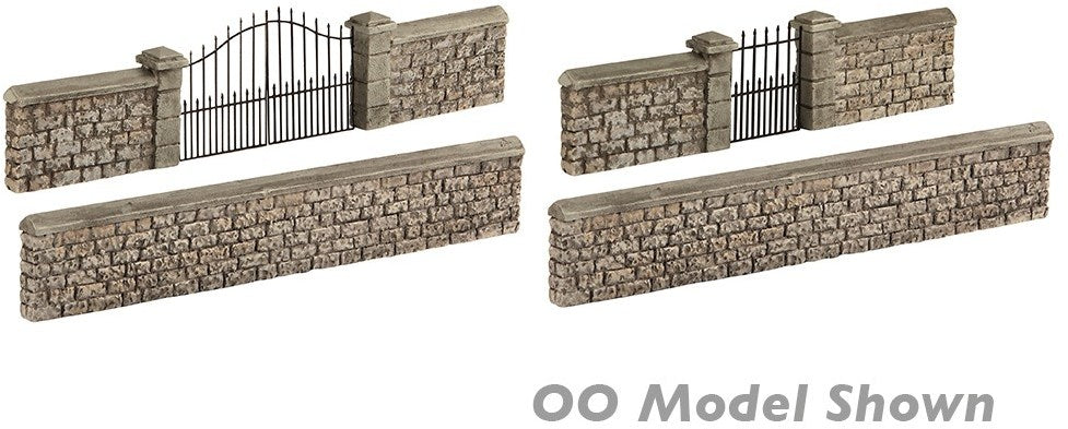 Bachmann 42-555 Stone Walls and Gates
