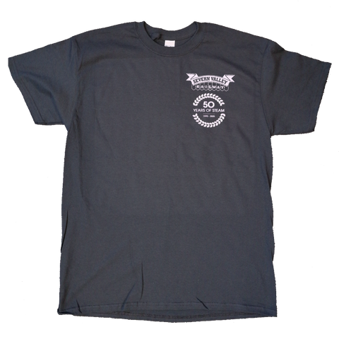Limited Edition 50 Years of Steam Pocket Logo T-Shirt