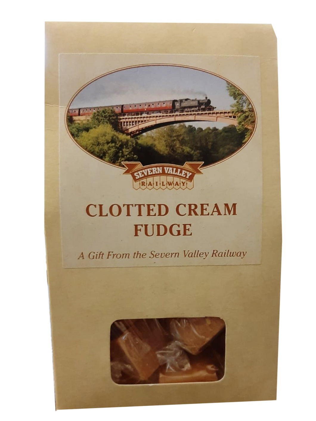 Clotted Cream Fudge (Gift Sachet and Gift Box available)