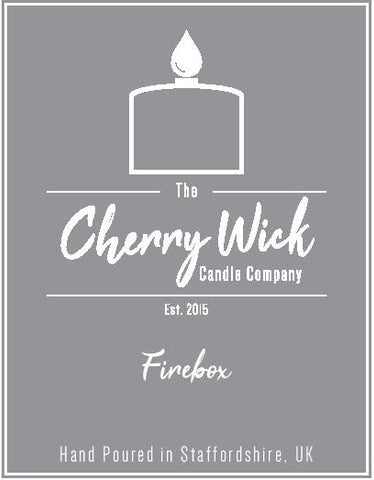 EXCLUSIVE Severn Valley Railway x The Cherry Wick Company Firebox Travel Candle 85g