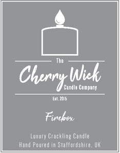 EXCLUSIVE Cherry Wick Firebox Candle 30cl
