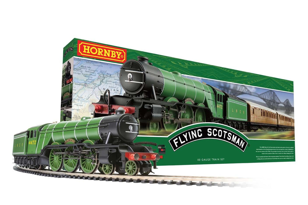 Hornby Flying Scotsman Train Set Gauge 00 (R1255M)