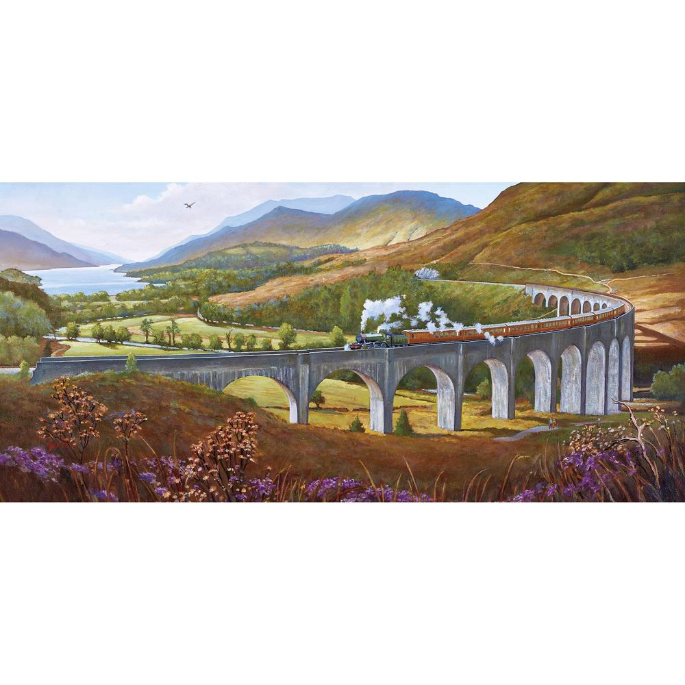 Glenfinnan Viaduct Railway Jigsaw 636 pieces