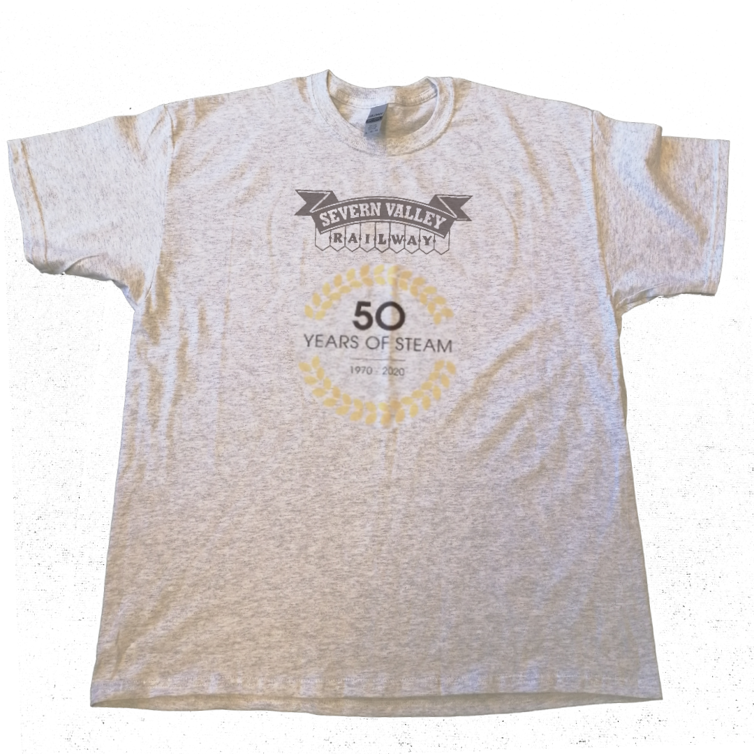Limited Edition 50 Years of Steam Logo T-Shirt