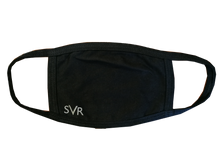 Load image into Gallery viewer, SVR Face Mask - black with white GWR style logo