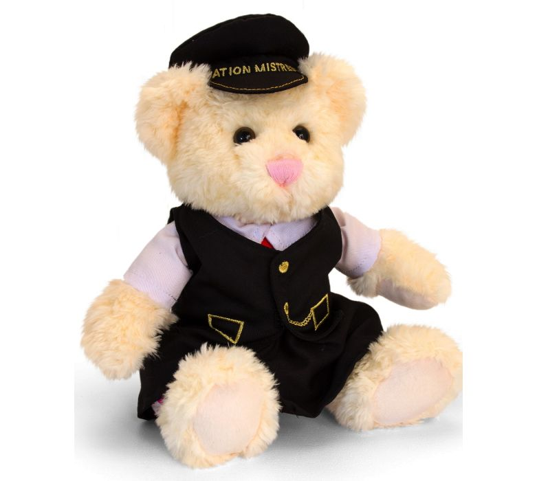 Severn Valley Railway Kate the Station Mistress Cuddly Bear 30cm